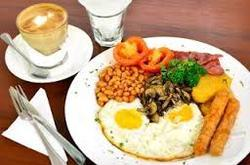 Heavy Complimentary Breakfast