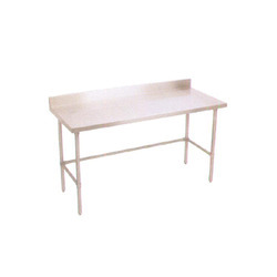 Work Table With Cross Bressing