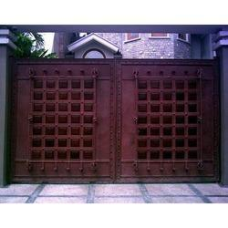 Manual Steel Gate Bangla Main Gate Manufacturer From Delhi