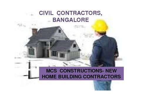Service provider of building construction contractors we for New house construction contract