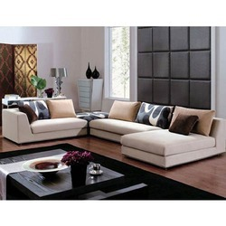 Residential L Shape Sofa Set - Zee