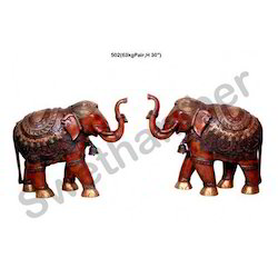Brass Statue Decorative Elephant Statues