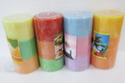 Triple Shade Pillar Candle
