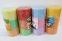 Triple Shade Pillar Candle