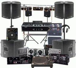 Audio Equipments On Rental