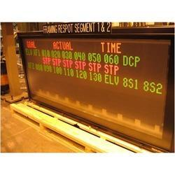 Red Green Parameter Display Board with Data Logger