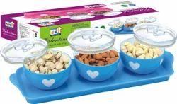 Valentine 3pcs Plastic Pot
