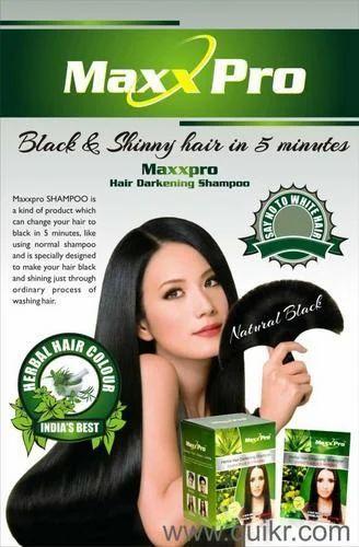 Herbal Hair Dye Shampoo & Noni Best Black Hair Shampoo ...