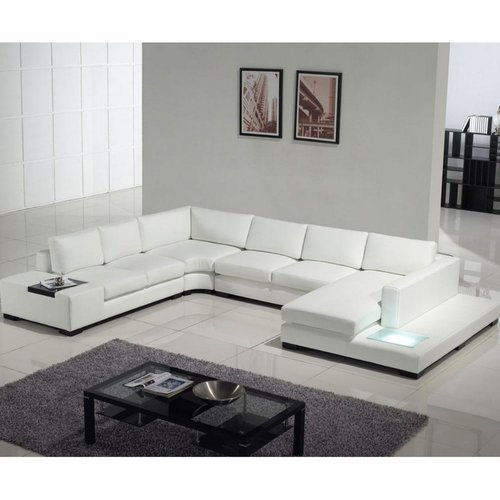 Leather White Modern Luxury Sofa Rs 250000 Piece Bab