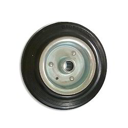 Stainless Steel Gray Rubber Contril Wheel, for Industrial