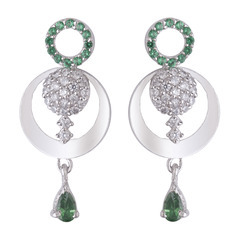 925 Sterling Silver Designed Earring