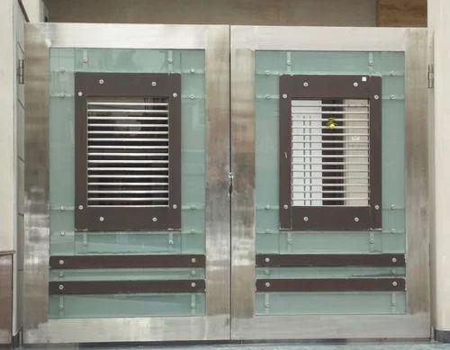 Stainless Steel Gates - Steel Gates Manufacturer from New Delhi