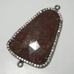 Sapphire Cubic Zirconia Pendant