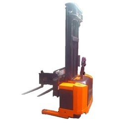 Electric Stacker Side Way