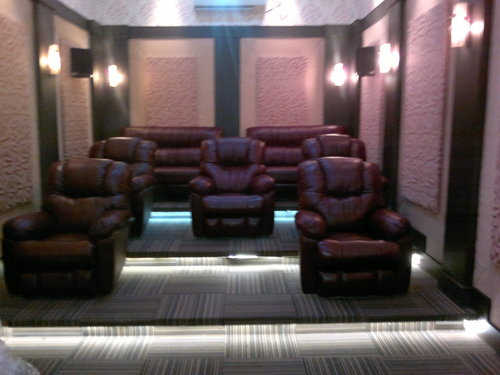 Ordinaire Home Theater Sofa Sets