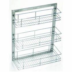 Three Shelf Pull Out Basket