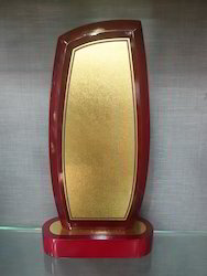 Wooden Gold Sheet Trophies