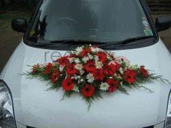 Wedding car decoration in india wedding bride car decoration junglespirit Image collections