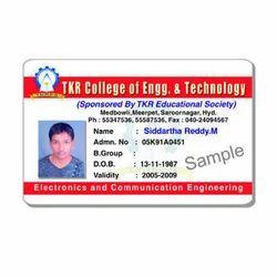 Laser ID Card