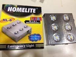 Homelite Plastic 6 LED Emergency Rechargeable Light