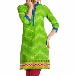 Green Designer Kameez