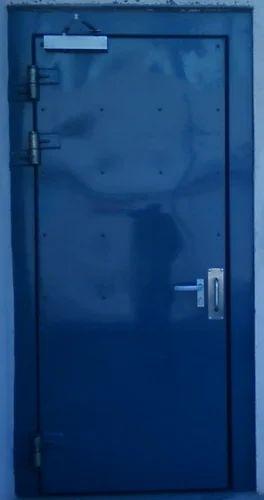 Single Leaf Blast Resistant Door - Radiant Fire Protection Engineers