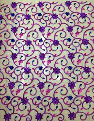 Dyeable Net Embroidery Fabric