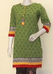 Hand Block Printed Ladies Kurta