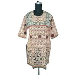 Party Wear Printed Kurti