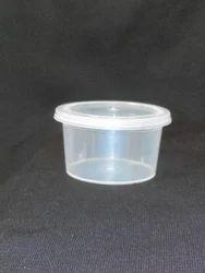 40ml Disposable Plastic Sauce Container