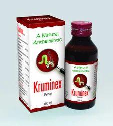 Natural Herbal Anthelmintic - Kruminex  Syrup
