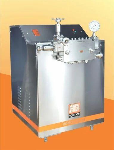 Ice Cream Homogenizer Machine