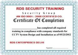 Rds Security Systems And First Aids Training