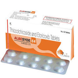 Thiocolchicoside and Etoricoxib Tablets