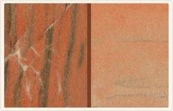 Zebra Pink Marble Polish Stone for Flooring