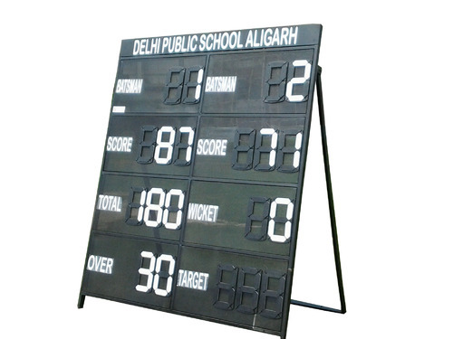 Square Metal Scoreboard