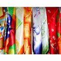 Multi Color Satin Fabric