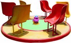 FRP Base 6 Seat Merry Go Round