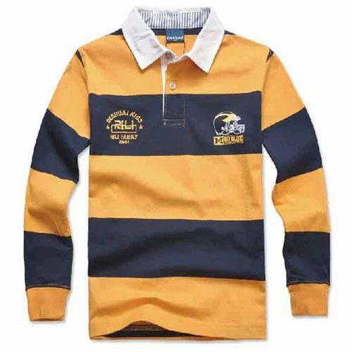 661f128d72f3 Kids Polo Long Sleeve T-Shirt, Kids Dresses   Sivi Exports in ...