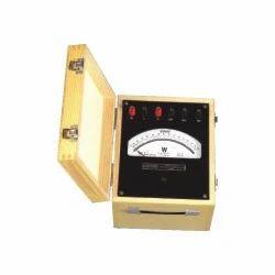 Portable Analog Watt Meter Unity Power Meter