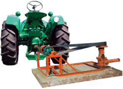 PANCHAL Borehole Lineshaft Water Pump Driven By tractor PTO
