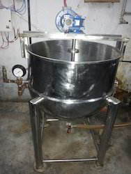 Steam Jacketed Kettle with Stirrer