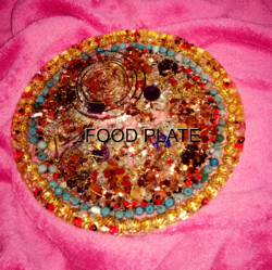 Orgone Ion Food Rejuvenation Plate