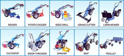 Agricultural Equipment - BCS MC 740 Power Tiller