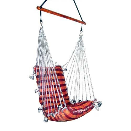 Single Cotton Rope Swing Size L 30 X W 30 X H 75 Rs 2000 Piece