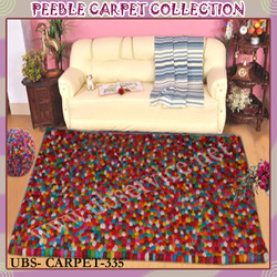 Colorful Peeble Carpet