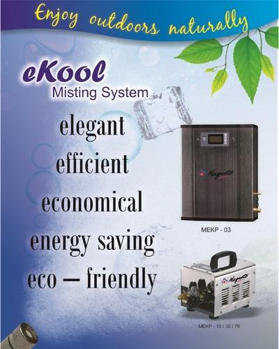 Outdoor Cooling Misting Systems Exporter From New Delhi