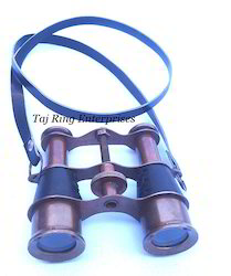 Pocket Brass Binocular