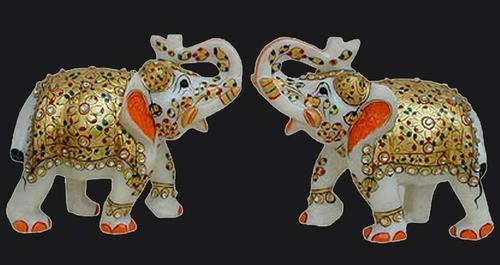 Marble Temple Marble God Elephant Statue Manufacturer