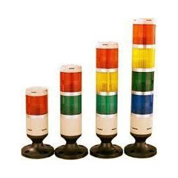 LED Plastic Warning Lights, For Industrial